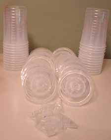 99011 - 3M™ PPS™ - P/N 16024, Lids and Liners with Plugs, 25 per case